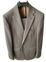 Abito Uomo Corneliani pura lana Tg 48 Principe Di Galles. Pantalone omaggio