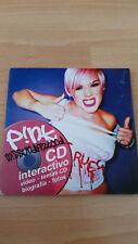 P!NK Missundaztood Album als spanische Interactive CD-Rom mit Extras