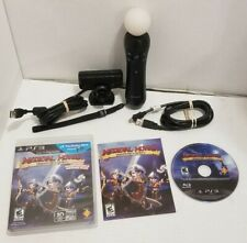 PS3 Sony Playstation Move Motion Controller + Eye Camera + Medieval Moves