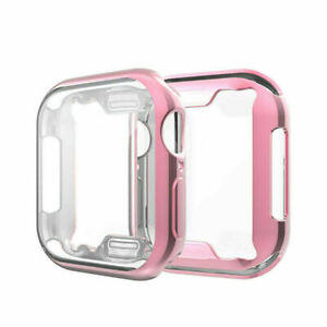 Protective TPU Cover Case Bumper Anti-scratches for Watch 1/2/3/4/5/6/SE Watch