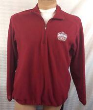 University of ALABAMA CRIMSON TIDE Fleece Jacket Pullover Antigua 2009 Champs M