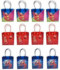 New Sesame street ELMO Birthday Party Favor Goodie Gift candy Loot Bags 12pcs