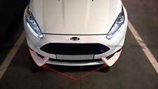 Front Lip Splitter For Ford Fiesta ST Facelift MK7 ST Version 2013 On MTD FRP