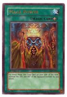 Mage Power LON-050 1st Edition - Ultra Rare Holo Yugioh Card - GREAT CONDITION!
