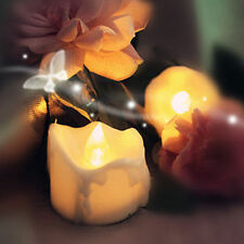 Yellow Flicker Battery Candles Plastic Electric Candles For Party Wedding Decor