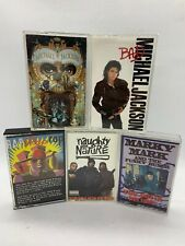 Lot of 5 Cassette Tapes: Naughty By Nature Marky Mark Michael Jackson Rap