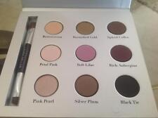 Laura Geller Eyewearables Baked Eyeshadow Palette 9 Shadows & Double Ended Brush
