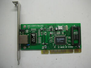D-Link DFE-538TX Rev.D2 DL10038C RJ45 PCI