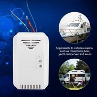 12V LED Alarma de Gas Combustible Propano Butano LPG Natural Detector de Sensor