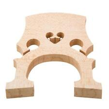 Double Bass Bridge 1/4 Maple Upright Bass Bridge for Instrument Bridge Part