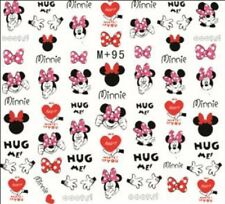 Nail Art Stickers Water Decals Transfers Minnie Mouse (M+95)