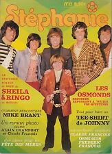 STEPHANIE n°13 avec autocollants Osmonds