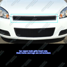 For 2006-2013 Chevy Impala/ 06-07 Monte Carlo Stainless Black Mesh Grille