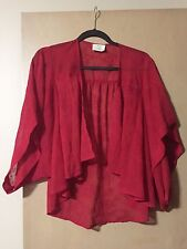 Pins And Needles Extra Small Red Kimono Urban Outfitters