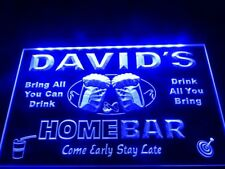 Home Bar Beer Family Name Led Neon Light Sign Hang Wall Decor Gift Advertise New