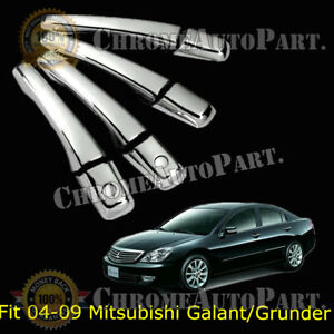 FOR 2004-2009 MITSUBISHI ENDEAVOR GALANT GRUNDER CHROME DOOR HANDLE COVER COVERS