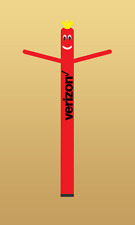 Verizon Air Inflatable Sky Puppet Great Dancer - 20 FT Red