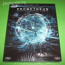 PROMETHEUS BLU-RAY 3D + BLU-RAY + DVD NUEVO Y PRECINTADO EDICION COLECCIONISTA