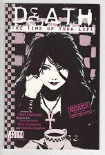 Death Time Of Your Life Advance Preview Prestige Format 9.2 NM Neil Gaiman