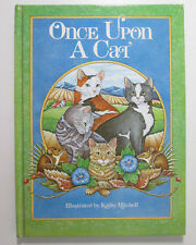 Once Upon A Cat Five Famous Stories About Cats vtg 1983 Book Edited by L Savryn