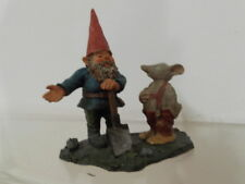 David der Kabauter the gnome Egbert Figur Statue Mo with mouse Mo mit Maus 2001
