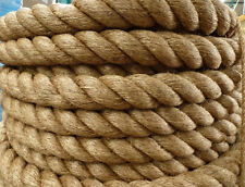 """2"""" Manila Rope Cut/Sold By The Foot $2.30/foot Nautical Landscape Fitness Dock"""