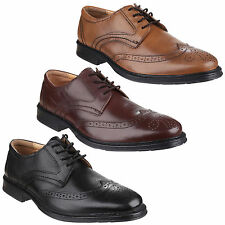 Cotswold Mickleton Brogue Lace up Leather Mens Smart Shoes UK6-12