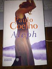PAULO COELHO ALEPH Bompiani 1^ediz 2011 cartonato con sovracopertina