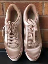 Rose gold Sport shoes women's sneakers 8.5/ 40