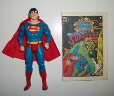 1984 Kenner DC Super Powers Superman Vintage Action Figure Complete Mint