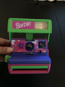 Vintage Polaroid Camera Barbie Edition