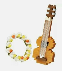 New Nanoblock NBC-206 Ukulele mini bricks puzzles 120 Pcs Music Instruments