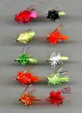 TRUITES MOUCHES: Fluorescent Blob X 10 Taille 10 (code 085)
