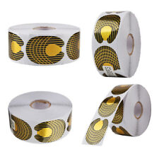 500Pcs/Roll Gold Hand Nail Art Tips Extension Forms Guide French Acrylic UV Gel