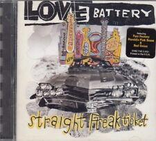 Love Battery Straight Freak Ticket CD Alternative Grunge Indie Rock FASTPOST