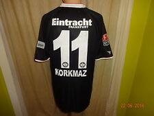 "Eintracht Frankfurt Jako Matchworn Trikot 2008/09 ""Fraport"" + Nr.11 Korkmaz Gr.L"
