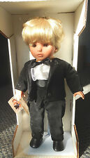 ORIGINAL BOX PAPERWORK LISSI DOLL-MIHAELL-GROOM-19 3/4 INCHES-ADORABLE BOY DOLL
