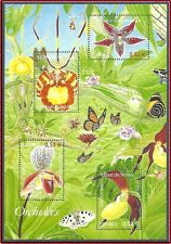 2005 FRANCE BLOC N°81** Bf  ORCHIDEES Fleurs, TB, France 2005 Orchids Sheet MNH