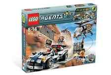 LEGO Agents 8634 Turbocar Chase New Sealed