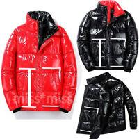 Men's Winter Padded Down Cotton Coat Warm Thicken Puffer Jacket Outwear Overcoat