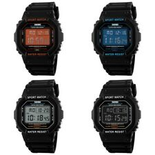 Skmei Mens Digital Sport Watches Waterproof Shock Resistant Date LED Wrist Watch