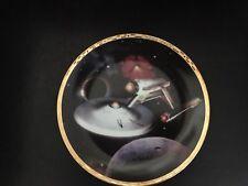 Star Trek The Voyagers Uss Enterprise Ncc-1701 Hamilton Collection Plate 1993.