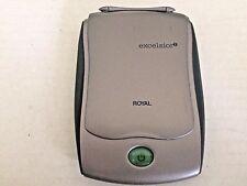 Royal Excelsior 2 Personal Digital Organizer and User Manual Black Case VGUC