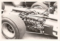 MIKE SPENCE BRM P83 ENGINE DETAIL MONACO GRAND PRIX GP 1967 PERIOD F1 PHOTOGRAPH