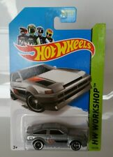 Rare Hot Wheels Toyota AE-86 Corolla Factory MC5 Wheel Error Silver VHTF