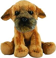 Border Terrier Dog Siting Soft Toy 12.7cm by Suki Gifts