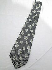 Gant Salty Dog Mens Ties Blue White Yellow Flower Motifs