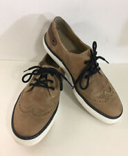 Portobello Mens shoes casual sneaker wingtip style light brown Size US12 EU 29