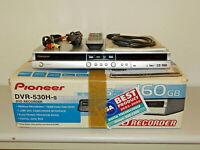 Pioneer DVR-530H DVD-Recorder / 160GB HDD in OVP, Silber, FB&BDA, 2J. Garantie