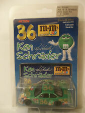 2000 ACTION COLLECTABLES 1/64 KEN SCHRADER #36 M&M'S GREEN PONTIAC GRAND PRIX